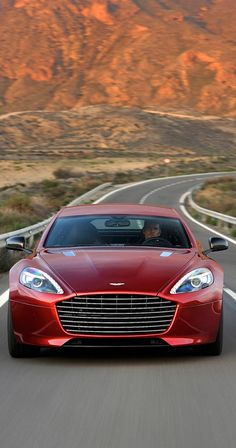 Aston Martin Rapide S - OK This is the car I want - NOW!