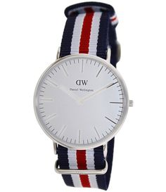 Daniel Wellington Male Canterbury Watch  0202DW Silver Analog             Sale price. $129.95