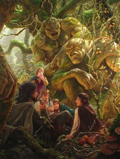 Second Breakfast by Raoul Vitale (from Tolkien's Lord of the Rings) Comic Art