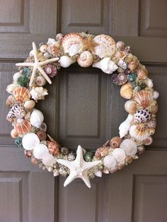 Image detail for -Order your wreath - Choose a Seashell Wreath