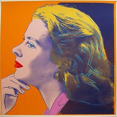 Andy Warhol, Ingrid Bergman-Herself (FS.II.313), 1983    			Silkscreen on Lenox Museum Board, 38 x 38 in (96.5 x 96.5 cm)  			  			Edition of 30 TP. Signed and numbered in pencil lower right. Unique