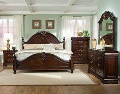 Wisteria B602 King Size Bedroom Set | Dream Bedrooms | Pinterest ...