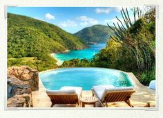 Guana Island, British Virgin Islands - Sea View Pool Cottage