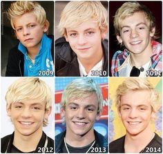 Ross through the years