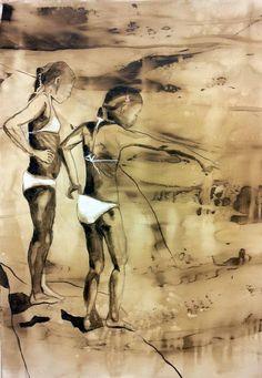 EN DAG I JULI BY ANNE-BRITT KRISTIANSEN  #fineart #art #painting #kunst #maleri #bilde  www.annebrittkristiansen.com/anne-britt-kristiansen-kunst-2012