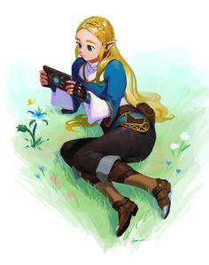 Zelda Breath of the Wild. Legend Of Zelda Memes, Legend Of Zelda Breath, Nintendo Characters, Anime Characters, Transformers, Princesa Zelda, Botw Zelda, Nintendo Super Smash Bros, Pokemon