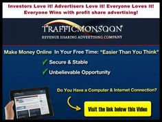 Traffic Monsoon ~ your key to passive wealth http://netgain48.wix.com/trafficmonsoonoffer