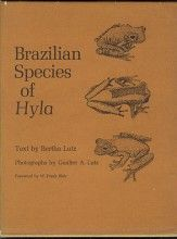 Brazilian Species of Hyla Bertha Lutz University of Texas Press, 1ª edição, 1973 Tipo: Capa dura