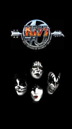 Best Rock Bands, Cool Bands, Kiss Rock, Kiss World, Kiss Me Love, Heavy Metal Art, Kiss Pictures, Band Wallpapers, Kiss Band