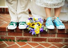 You absolutely MUST wear converse for your wedding. MUST.