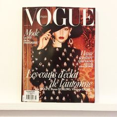 Pearly Paris Vogue. @vogueparis #vogue #fashion #style #hautecouture #tomwolfe #ryangosling #virginieefira #gigihadid
