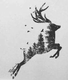 ideas for tattoo animal deer inspiration – cover – … - Tattoo-Ideen Cute Tattoos, Body Art Tattoos, Xoil Tattoos, Hand Tattoos, Sleeve Tattoos, Animals Tattoo, Tattoo Animal, Stag Tattoo, Tattoo Ink