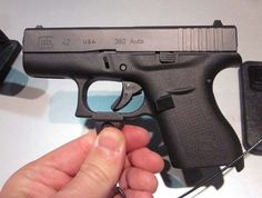 Glock 42.  Dying to get my hands on this. I want a super sub compact for warmer weather. The glock 23 is so bulky on my frame.