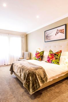 We have thirty two beautifully decorated bedrooms all with en-suite bathrooms Furniture, Room, House, Ensuite, Guest House, Home Decor, Suite, Mini Bar, Bedroom