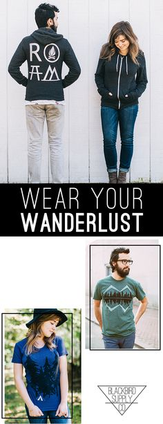 Ethically manufactured clothing, accessories, and gifts that celebrate wanderlust, slow living, and the great outdoors. Illustrated and printed by hand in RVA. Crater Lake, Traveling By Yourself, What To Wear, Shirt Designs, Cute Outfits, Blackbird, Hoodies, Clothes For Women, Tees