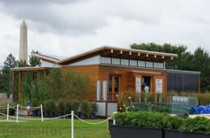 University of Maryland's WaterShed Solar Decathlon House Takes First Place In Architecture!