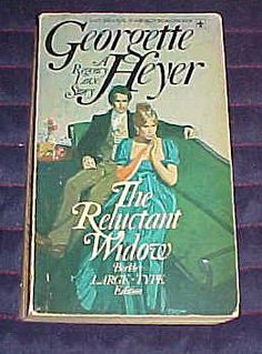 The Reluctant Widow by Georgette Heyer Berkley Large-type edition Georgette Heyer, Music Tv, Book Authors, Romance Novels, Regency, Book Covers, Books To Read, Ms, Literature