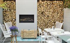 Tuin bij Brasserie restaurant de Tuynkamer Hoorn. Van Veen Tuinontwerpen tuinontwerp hovenier