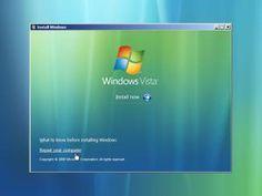A screenshot of the Windows Vista Startup Repair Your Computer Link -
