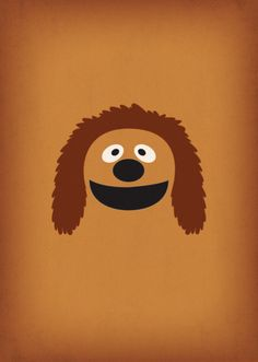 The Muppet Show Rowlf Minimalist Poster Retro by TheRetroInc
