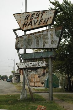 Sign in Afton, Oklahoma