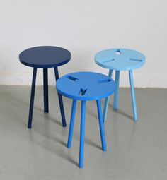 Modeste 2012 by Paul Menand Design, 3 = 1 !