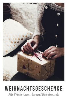 Keine Lust auf langweilige Geschenke? Hier gibts 20 besondere Geschenkideen für Reisefreunde und Weltenbummler. Zum Geburtstag, zu Weihnachten, zu Hochzeit oder einfach so. Pattern, Christmas Presents, Friends, Birthday, Viajes, Christmas, Patterns, Model, Swatch