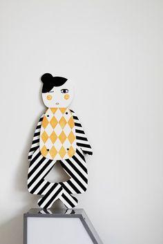 harlequin doll by Suki