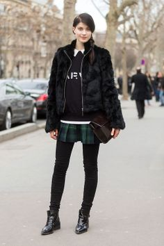 LARISSA HOFMANN, PARIS   (via On the Street: PFW Day 5 - Of The Minute)