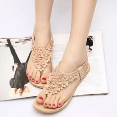 $7.03 (Buy here: https://alitems.com/g/1e8d114494ebda23ff8b16525dc3e8/?i=5&ulp=https%3A%2F%2Fwww.aliexpress.com%2Fitem%2F2016-Summer-Sandals-Woman-Shoes-Bohemia-Thong-Flat-Flower-Women-Sandals-Casual-Flats-sandalias-mujer-sapato%2F32781985251.html ) 2016 Summer Sandals Woman Shoes Bohemia Thong Flat Flower Women Sandals Casual Flats sandalias mujer  sapato feminino shoes 120 for just $7.03