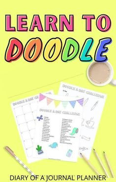 The ultimate bullet journal doodle tutorial bundle with 99+ doodles for you to learn! #bulletjournaldoodles Happy Doodles, Bujo Doodles, Cool Doodles, Simple Doodles, Easy Doodles Drawings, Easy Doodle Art, Doodle For Beginners, Doodle Art Journals, Alcohol Markers