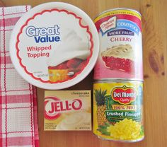 The Country Cook: Cherry Pie Fluff