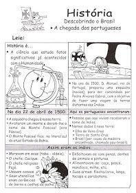 Pedagogiccos Dia Do Descobrimento Do Brasil Atividades Dia Do