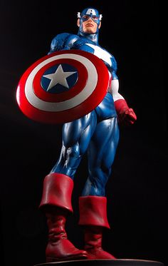 "Captain America — 10"" (25.4cm) tall"
