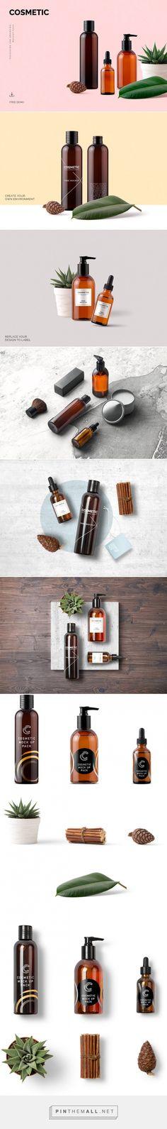 Free Mockup: Cosmetic Mockup Pack   #mockup #beauty #cosmetic - created via https://pinthemall.net