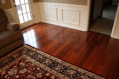 bamboo flooring in a home