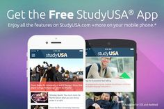 Get the FREE StudyUSA App for your Android or iPhone! Go to the link to download now: http://studyusa.com/blogs/studylifeusa/get-studyusa-on-your-android-or-iphone/ #StudyUSA #FreeApp