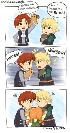 prince hans and krisstefor Disney And More, Disney Love, Disney Magic, Disney Frozen, Disney Stuff, Kristoff Frozen, Disney Girls, Disney Marvel, Disney Nerd