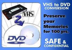 vhs to dvd transfer in Los Angeles