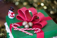 Weihnachtstorte - Geschenkbox