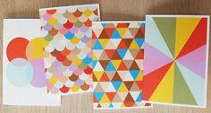 print & pattern: CARDS - dicky bird