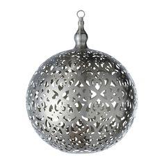 Pantalla colgante bola no electrificada de metal D 40 cm RABIA