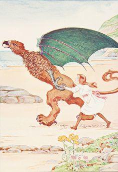 Millicent Sowerby illustration    Alice's Adventures in Wonderland