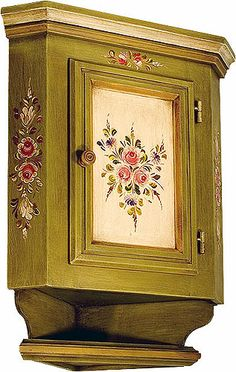 Móveis - Eliane Bica - Álbuns da web do Picasa Mirror Painting, Tole Painting, Painting On Wood, Hand Painted Furniture, Art Furniture, Unique Furniture, Boho Decor, Art Decor, Decoupage Vintage