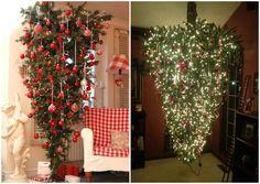 15 seriously creative ideas to help you get the perfect Christmas tree - Unusual Christmas Trees, Best Christmas Tree Decorations, Creative Christmas Trees, Old Christmas, Christmas Crafts, Holiday Decor, Fur Tree, Navidad Diy, 242