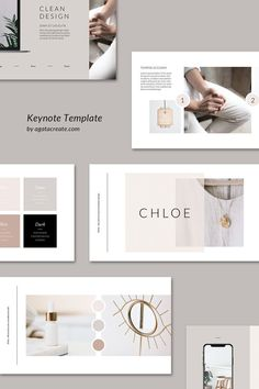 Clean and neutral Keynote presentation template available @etsy  #keynote #design #template #feminine #female #project #wedding #presentation #layout #inspiration #business #planner #speaker #ideas #minimalist #etsy #brand #manual #ebook #ecourse #webinar #etsyshop #digital #download