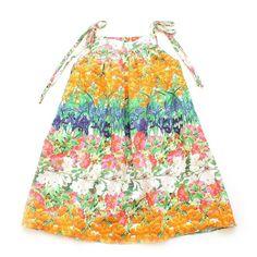 38b102204 Vestido Lacinho Jardim de Flores - CutiCutiBaby - Roupas e Acessórios para  bebês e crianças