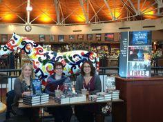 Mindee Arnett, Jenna Black, & Kristen Simmons at Joseph-Beth Booksellers in Lexington, KY.