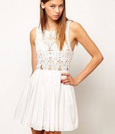 eebfb1346c Enlarge Alice McCall Anais Dress In Silk Cotton With Cutwork Bodice