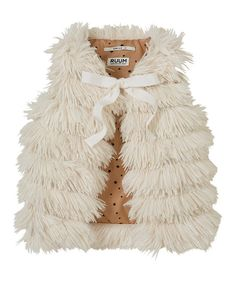 Faux Fur Vest - Infant, Toddler & Girls